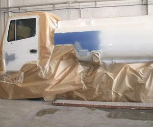 Pintura de camiones