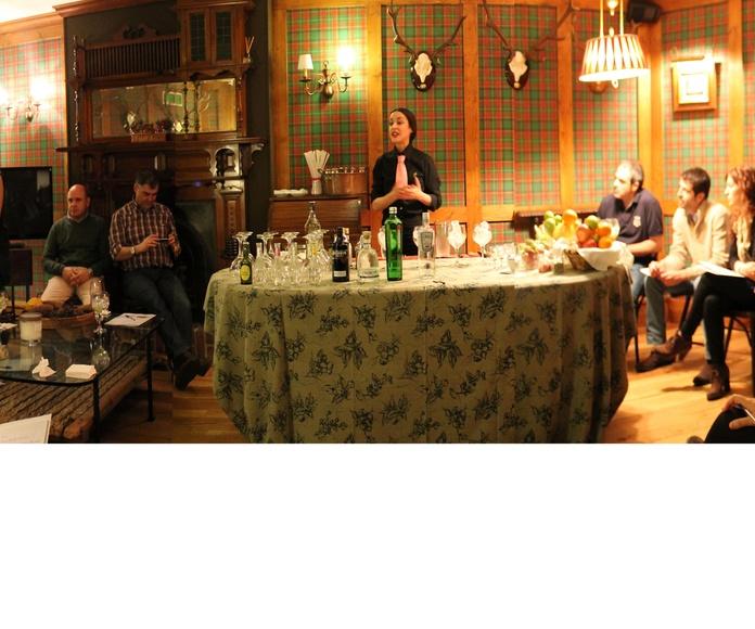 Cursos de Gin-tonic en Txoko Bilanda .