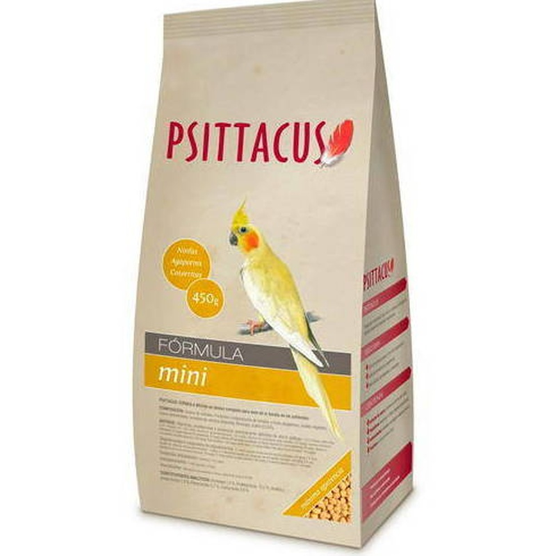 Psittacus Fórmula Mini 450g: Para tu mascota de New Art Can