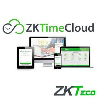 ZKTimeCloud Control horario Web