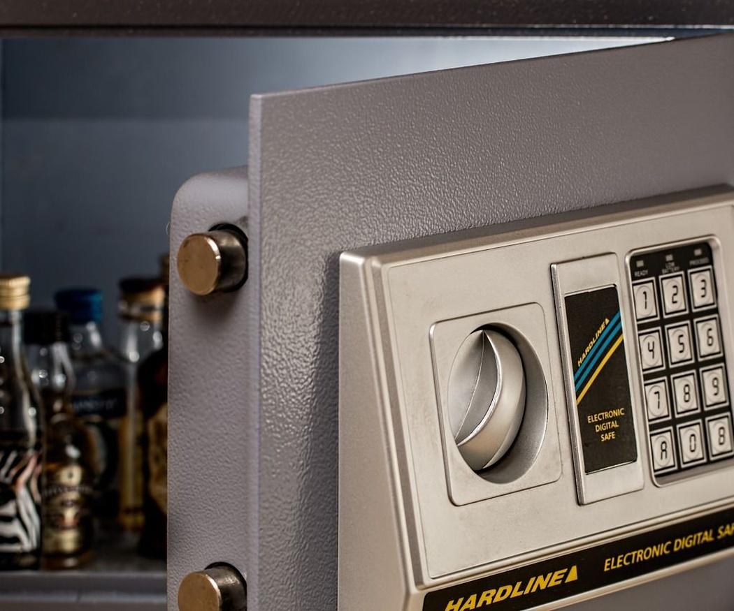 Tres sistemas de seguridad para la caja fuerte