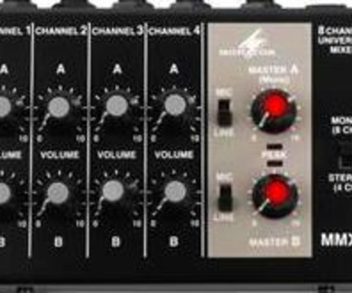 MESA DE MEZCLAS MMX-8: Nuestros productos de Sonovisión Parla