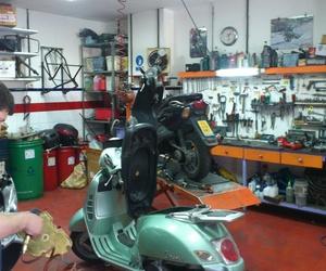 Repuestos de motos en Sevilla