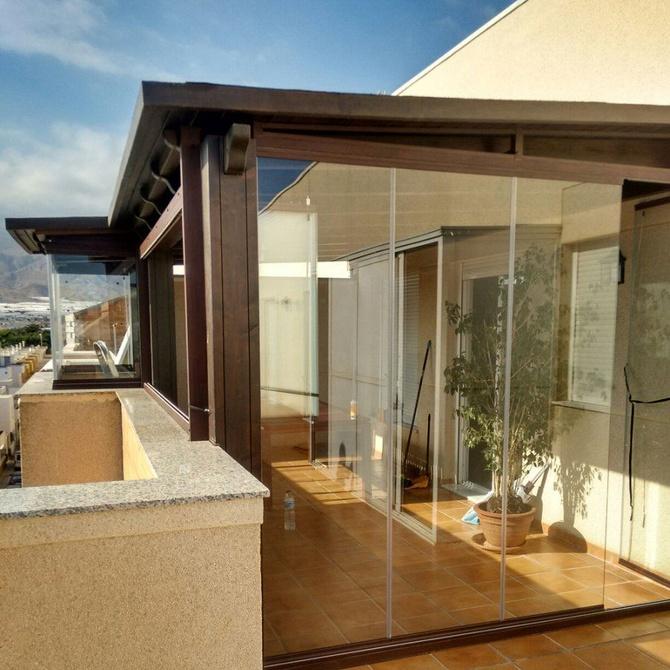¿Qué ganas con un cerramiento de terraza?