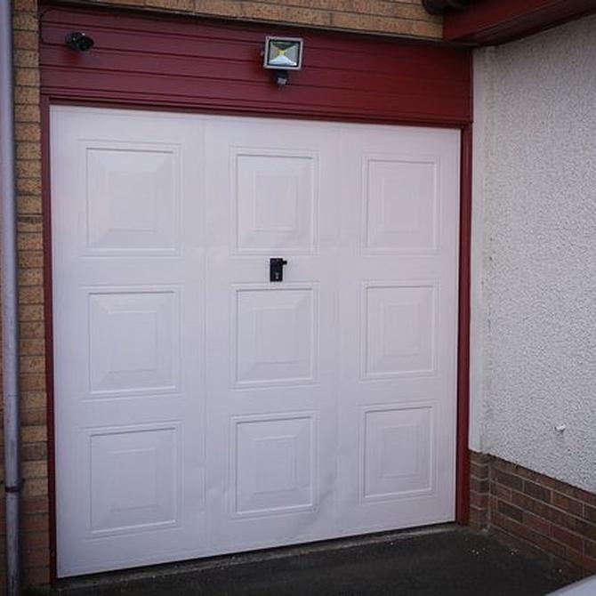 La estética de las puertas de garaje