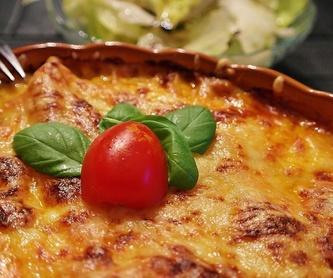 Pizza e Calzone: Nuestra Carta de La Trattoria