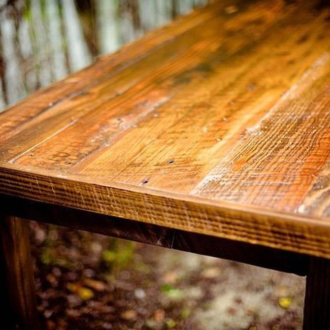 Algunos trucos para un correcto cuidado de la madera