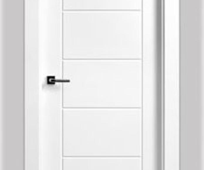 puerta lacada mod. 9007
