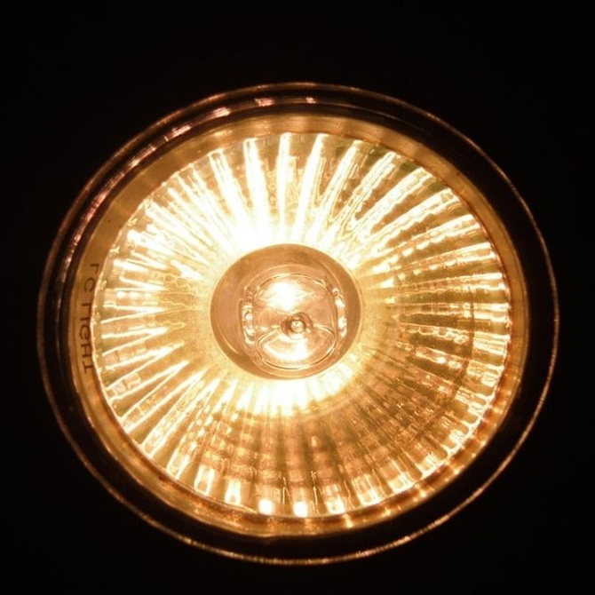 Propiedades de la iluminación halógena