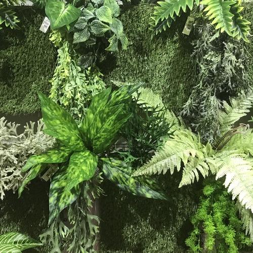 Planta artificial para la confección de Jardines Verticales en Fernando Gallego SCP