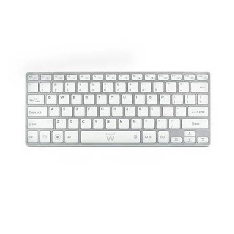 EMINENT-EWENT EW3146 Teclado Bluetooth Blanco: Productos y Servicios de Stylepc