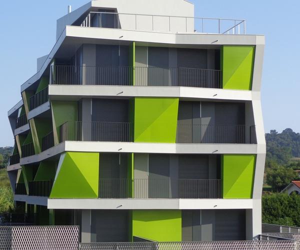 Promoción de 27 viviendas realizada en Urdúliz