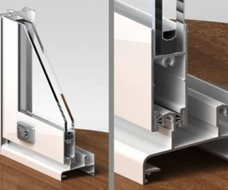 Mamparas y frentes de baño: Servicios de Aluminios y PVC La Raya