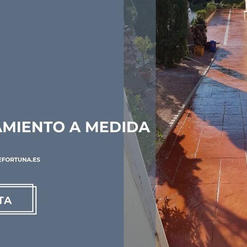 Hormigón fratasado en Murcia | Pavimentos impresos y fratasados de Fortuna