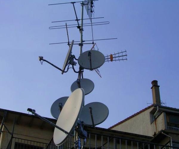La antena de tv