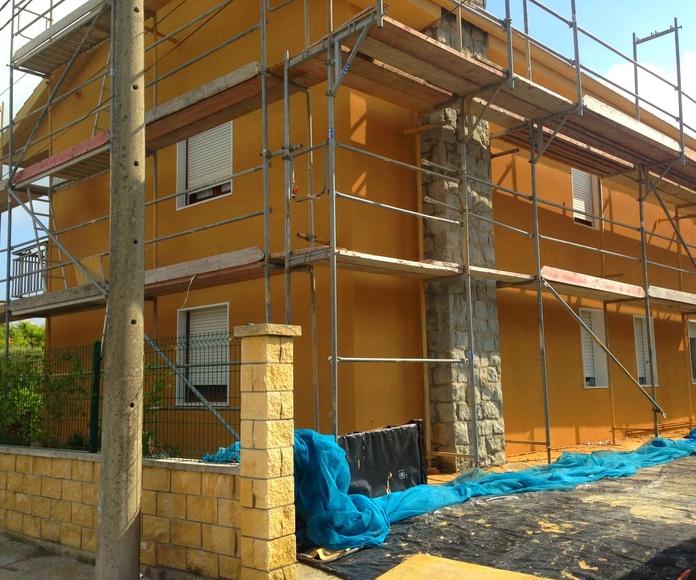 Mantenimiento y restauración de fachadas, tejados, impermeabilización de terrazas