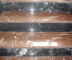 Cristalizado de peldaños en Leioa
