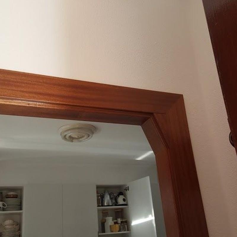 Revestimiento de paredes con madera: Productos y Servicios  de Carpintería Florencio Veiga