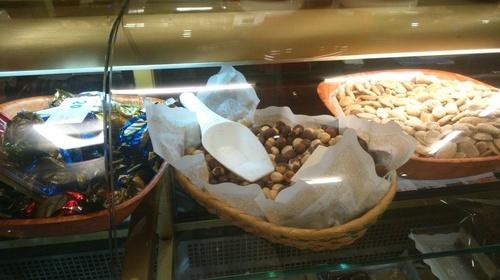 Frutos secos variados en Pastelería María