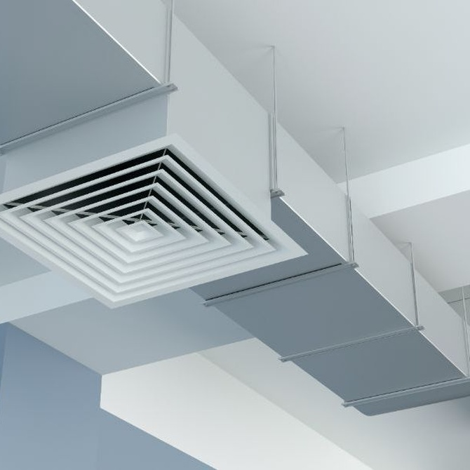 Cómo se realiza una preinstalación de conductos de aire acondicionado