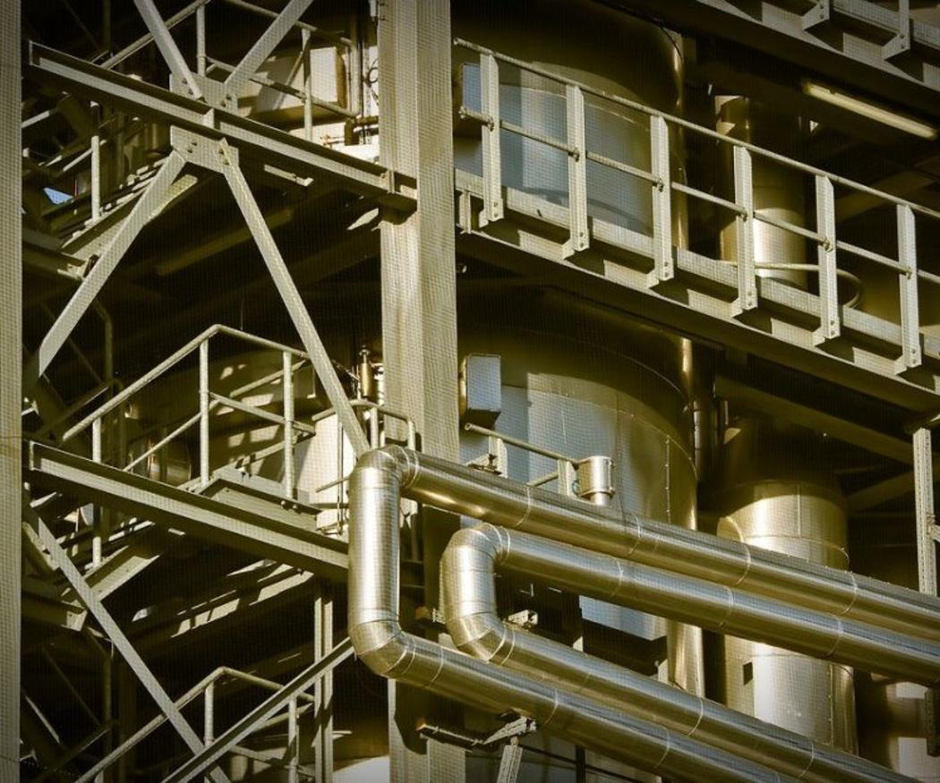 La calderería industrial para productos peligrosos