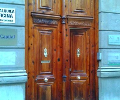 Puerta restaurada