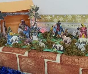 Decoración de Navidad hecha por nuestros mayores