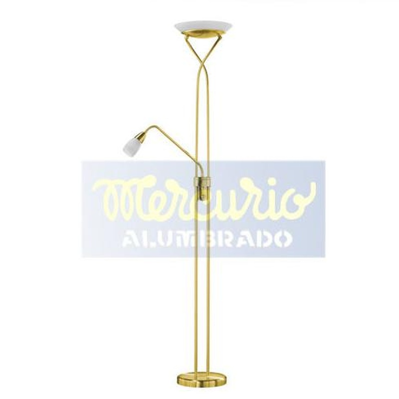 Lampara de pie LED regulable (20+5)W: Productos de Mercurio Alumbrado