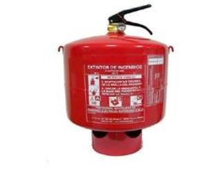 Extintor Automático de Polvo 9Kg
