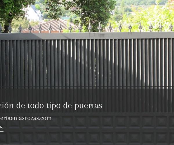Cerrajería metálica en Las Rozas | Cerrajería César Calvo