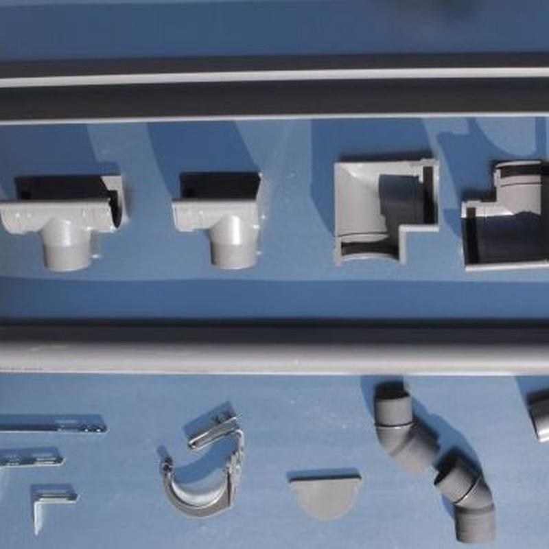 Canalón PVC: Productos de Ferretería Baudilio