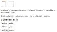 Mesita auxiliar con ruedas: Productos de Farmacia / Ortopèdia Diagonal Mar