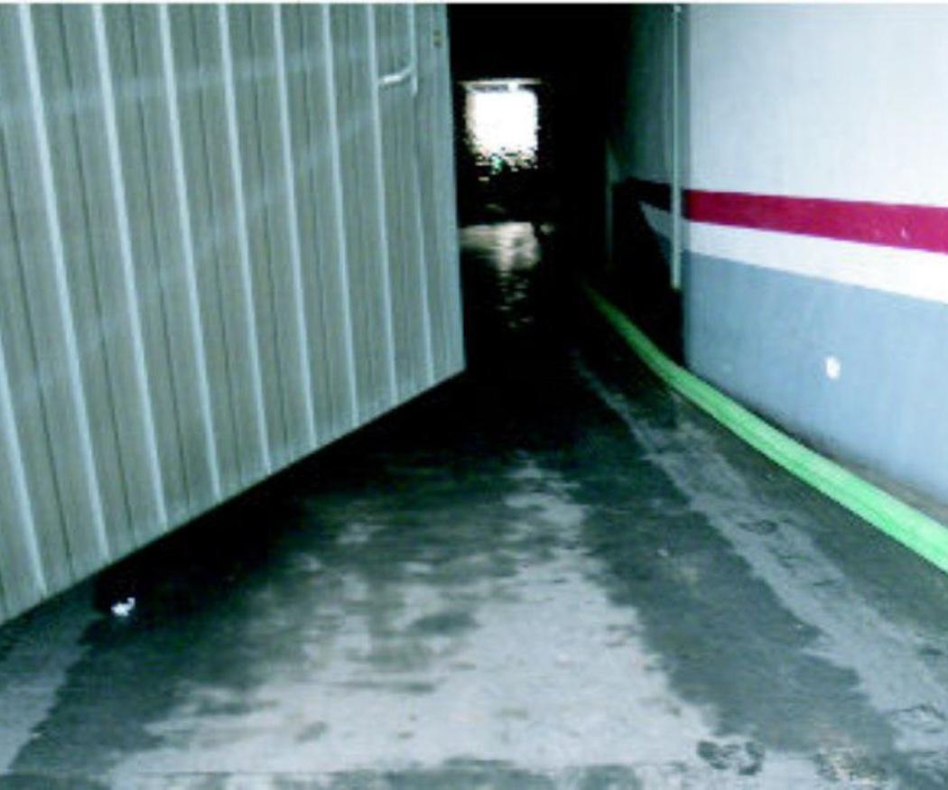 Solucionar una inundación de sótano