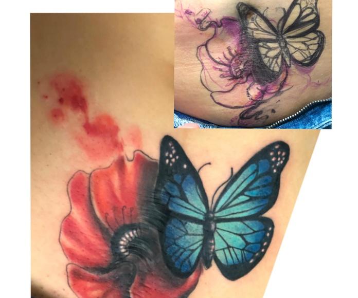 Tapado y Restauracion de Tattoo: Tatuadores especializados de Circe Tattoo