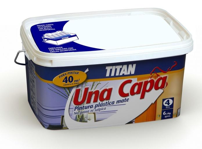 Plástico Titán Una Capa