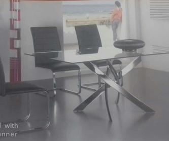 Espejos de pie tapizados: Catálogo de muebles de Muebles Los Ángeles