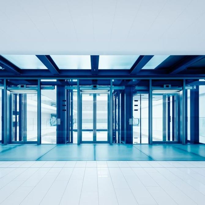 Puertas automáticas también en tu oficina