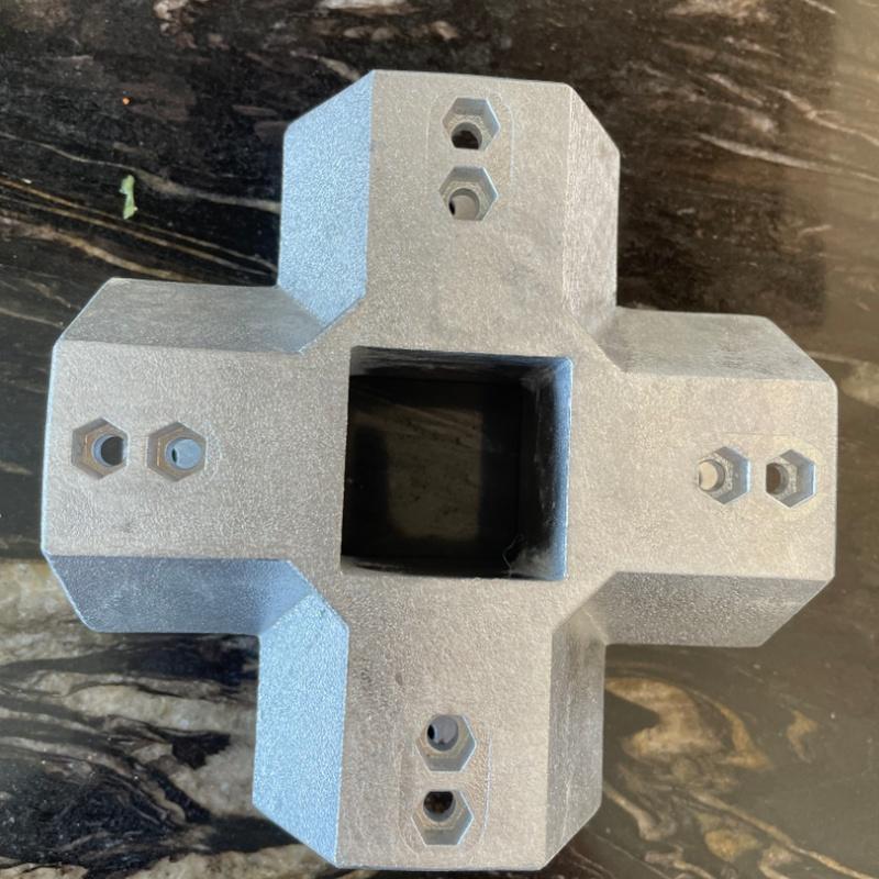 Enlaces para tubos de estructuras metálicas: Servicios de fundición de Fundiciones Ferrer