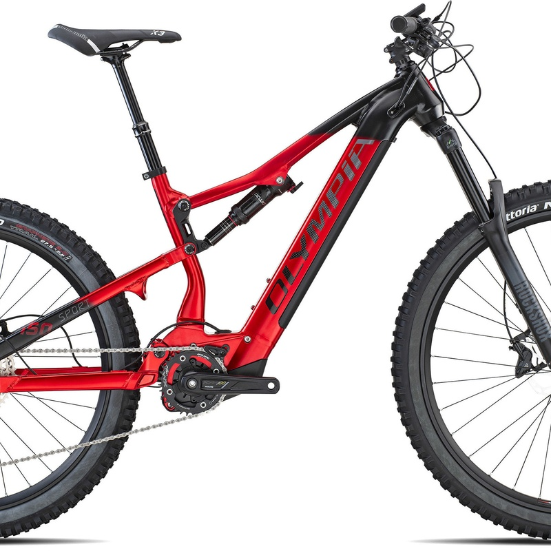 OLYMPIA EX 900 SPORT :  de E-Bike Guadarrama