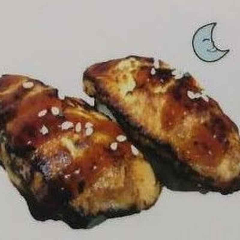Nigiri de foie gras: Carta de Sushi Time Buffet Libre