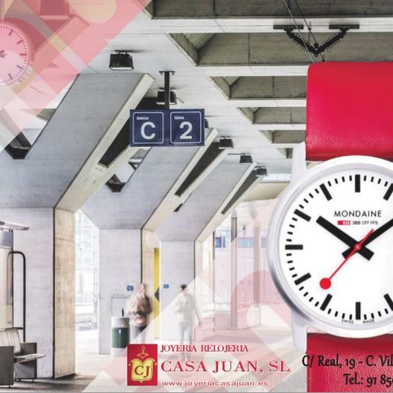Relojes Mondaine: Productos de Casa Juan