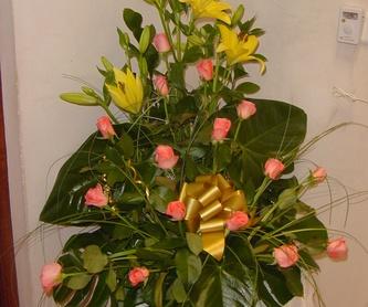 Cesta flor variada 1: Productos de ARTE Y JARDIN