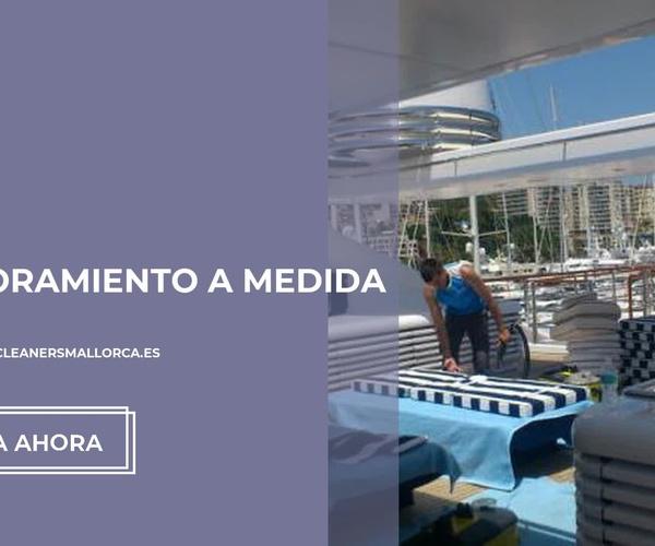 Limpieza de yates en Baleares | Be Clean