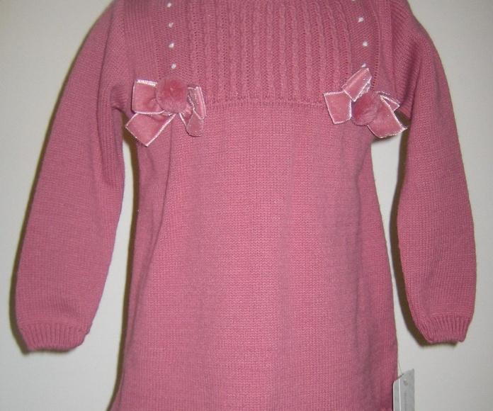 Vestido punto rosa F: Catálogo de Ste Odile Decoración