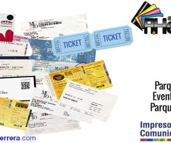 Tickets y Entradas