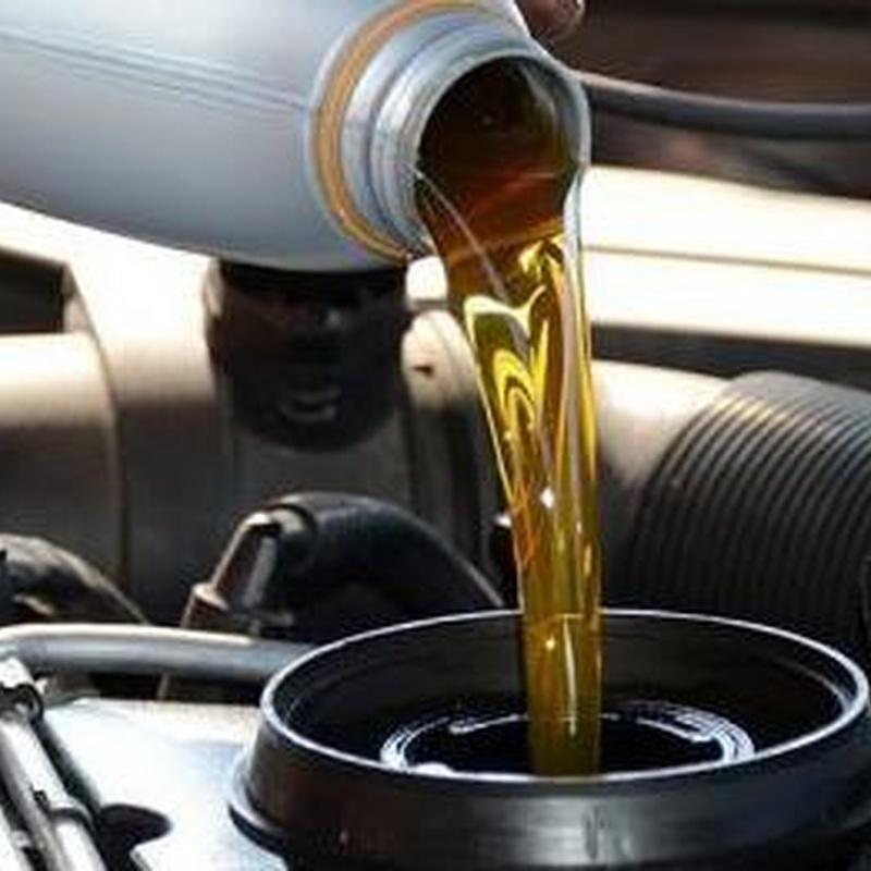 Cambio de aceite filtros y niveles
