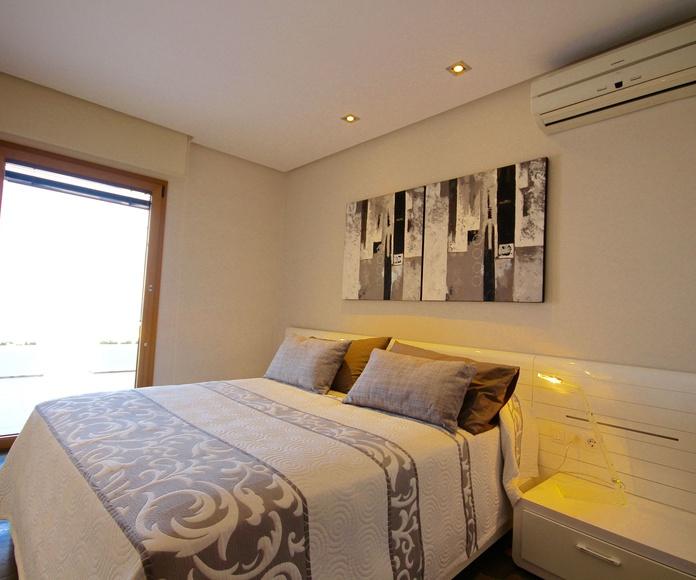 Dormitorio casa Malpas