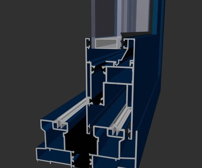 Corredera Aluminio Barcelona Alba Elevable RPT 120: Productos de Catal Pur