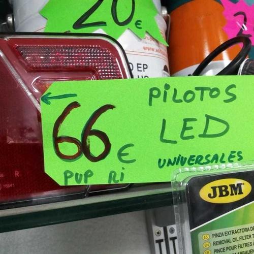 PILOTOS LED UNIVERSALES