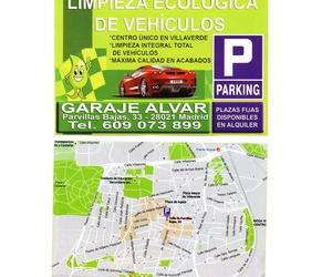 Garaje Alvar en Villaverde, Madrid
